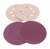 225mm Diameter hook & loop backed sanding discs.